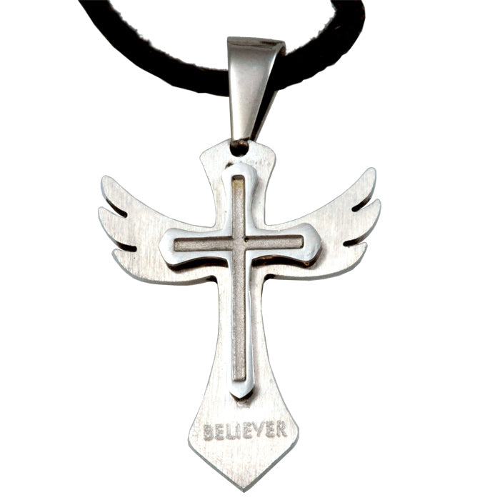 Believer Cross Forgiven Jewelry