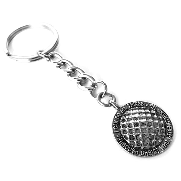 Golf Key Chain Phil 413 Antique Pewter