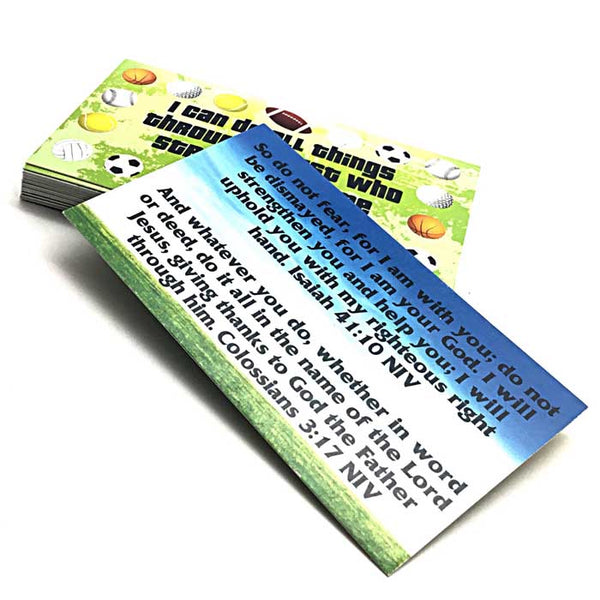 Phil 413 I Can Do All Things Through Christ Inspirational Pocket Card