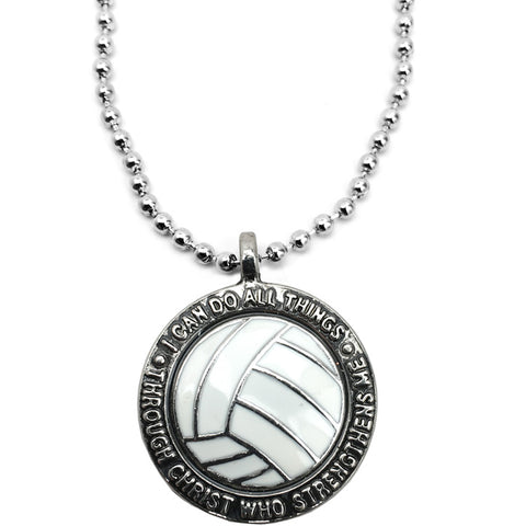 Volleyball Phil 413 Necklace