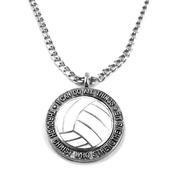 Volleyball Phil 413 Necklace on Chain