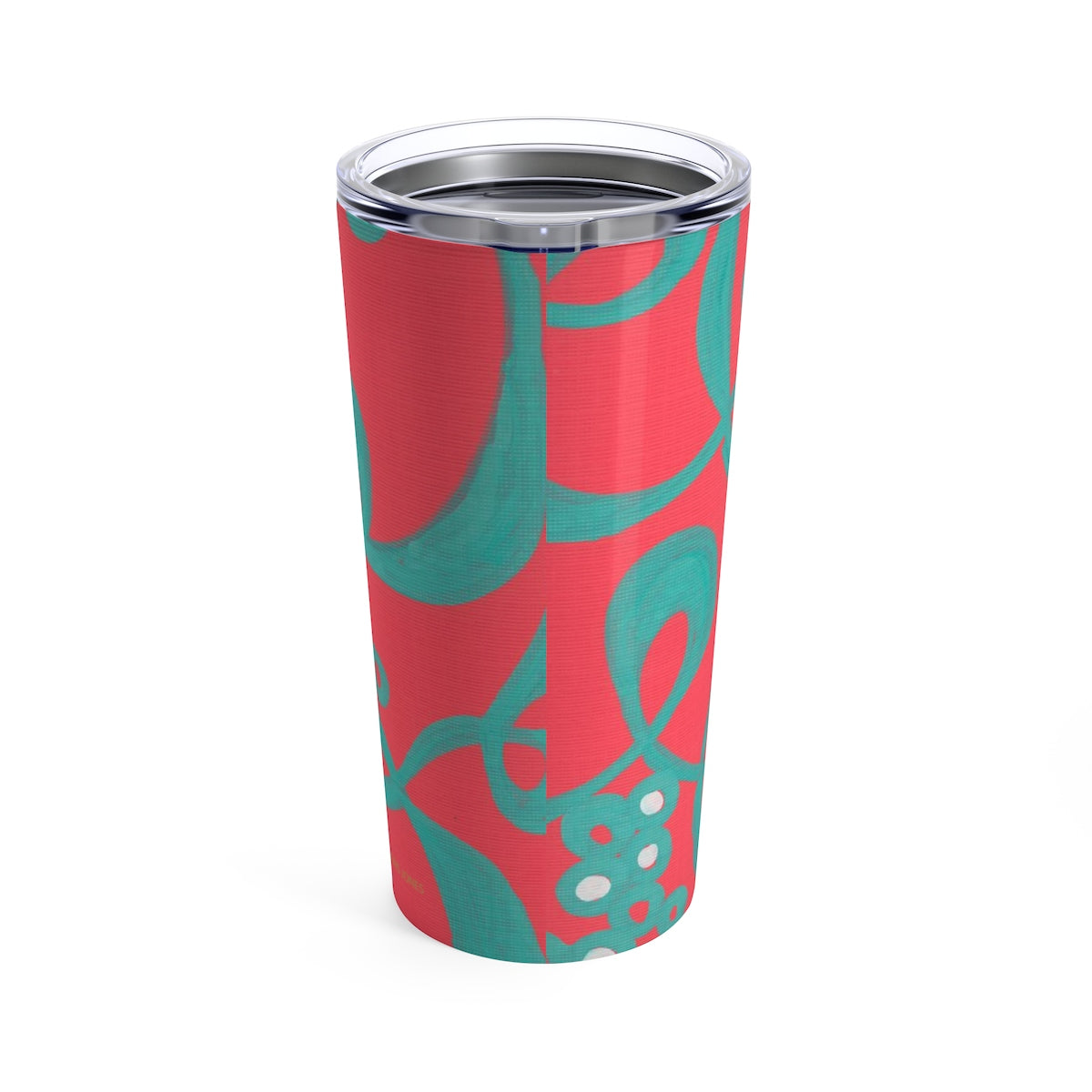 Red Bubble Tumbler 20oz
