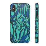 Blue Seaweed Phone Case