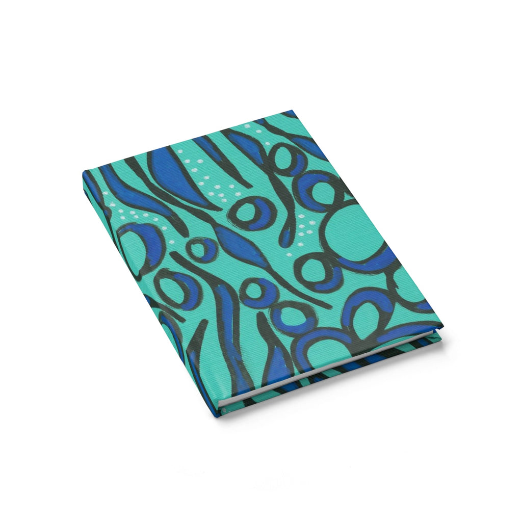 Blue Seaweed Notebook