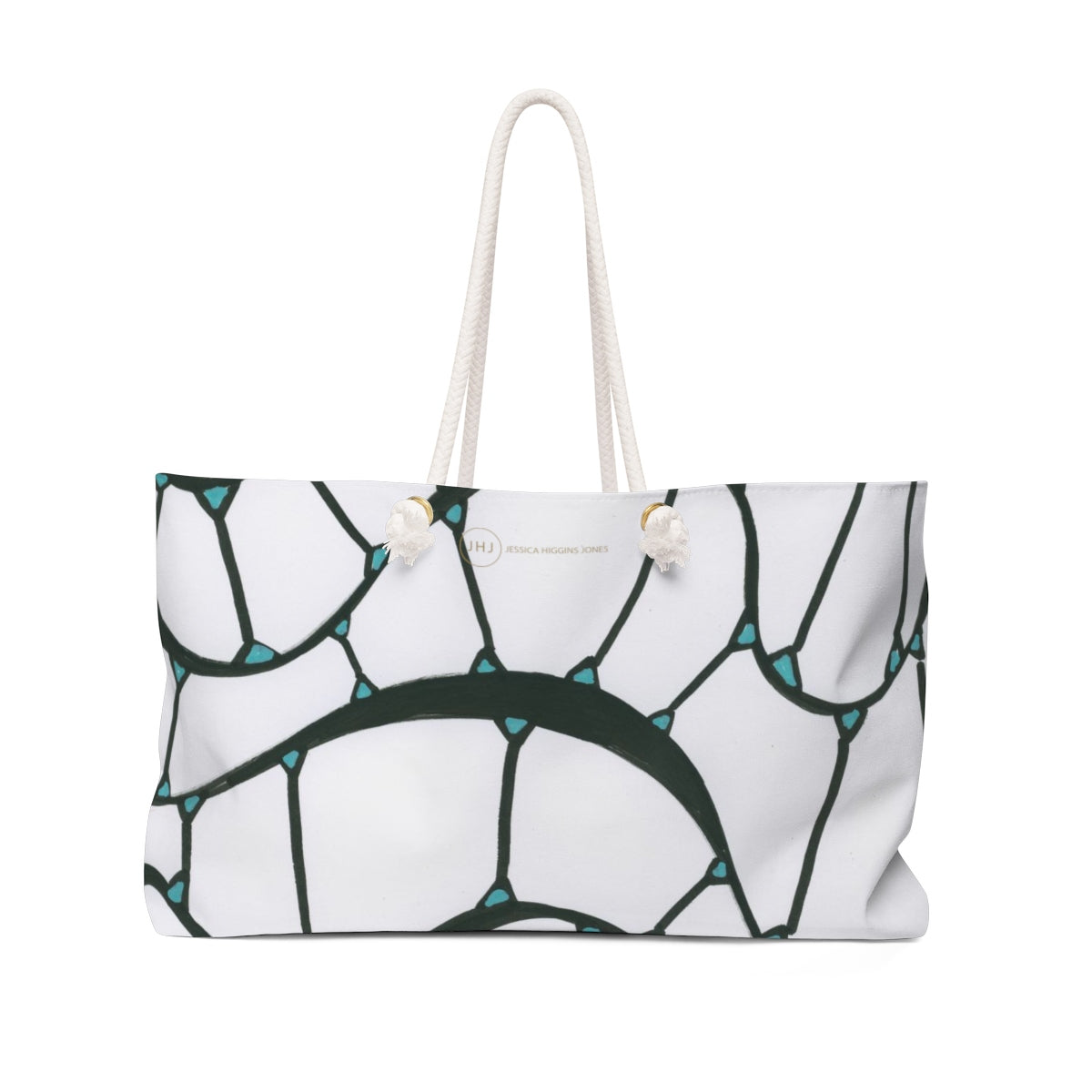 JESSSICA HIGGINS JONES ART ALGAE TOTE BAG