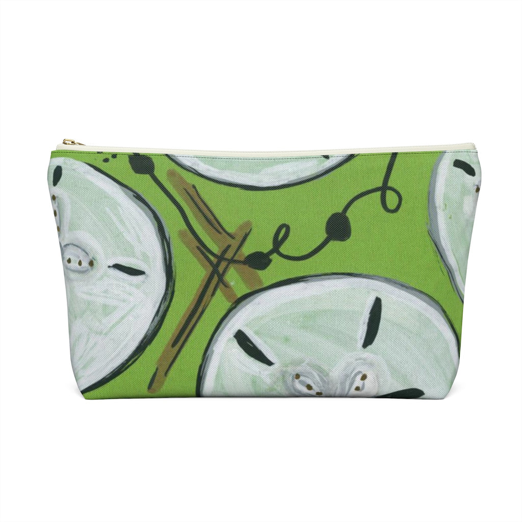 Sand Dollar Accessory Pouch w T-bottom