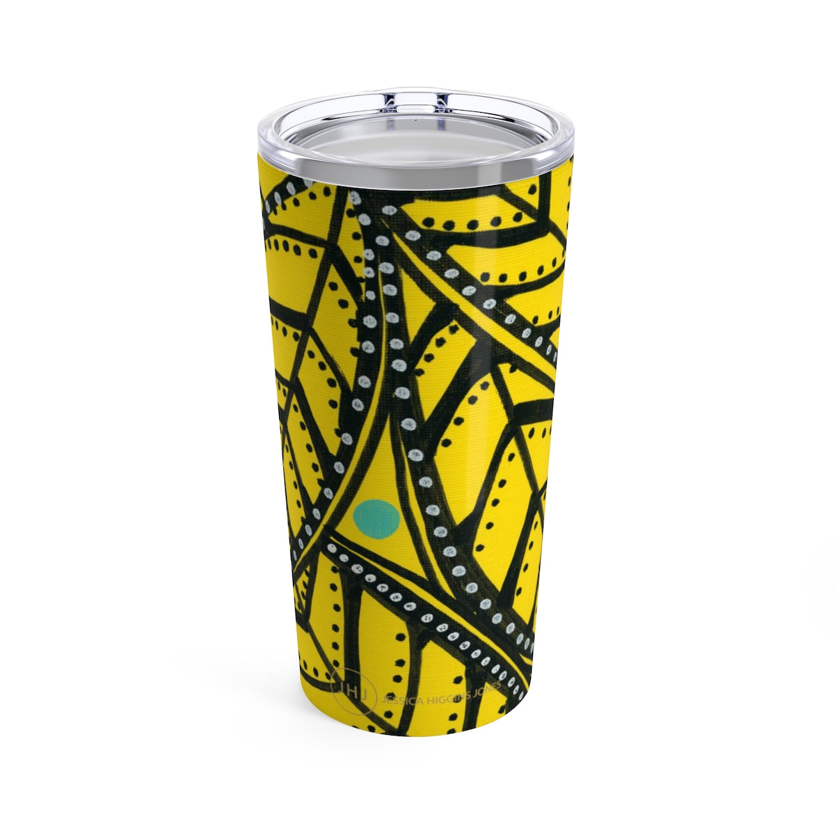 Yellow Palm Tumbler 20oz