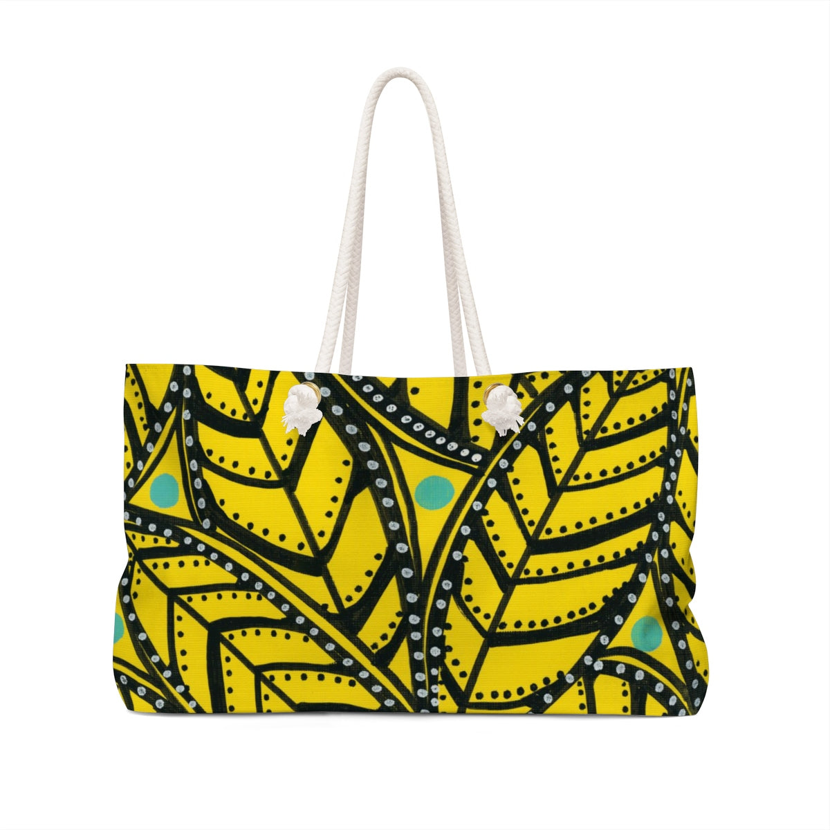 Yellow Palm Bag