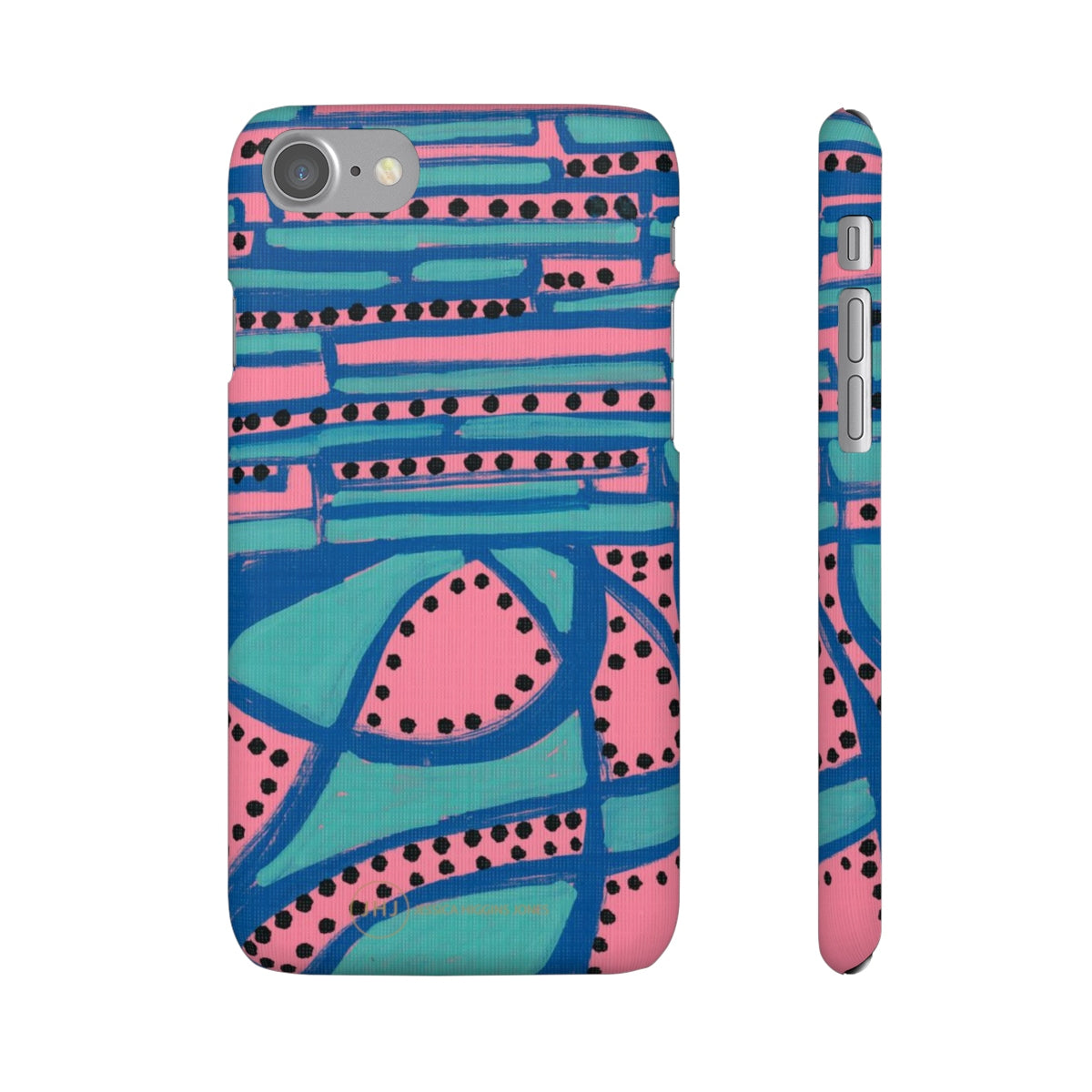 Pink Sunset Snap Case