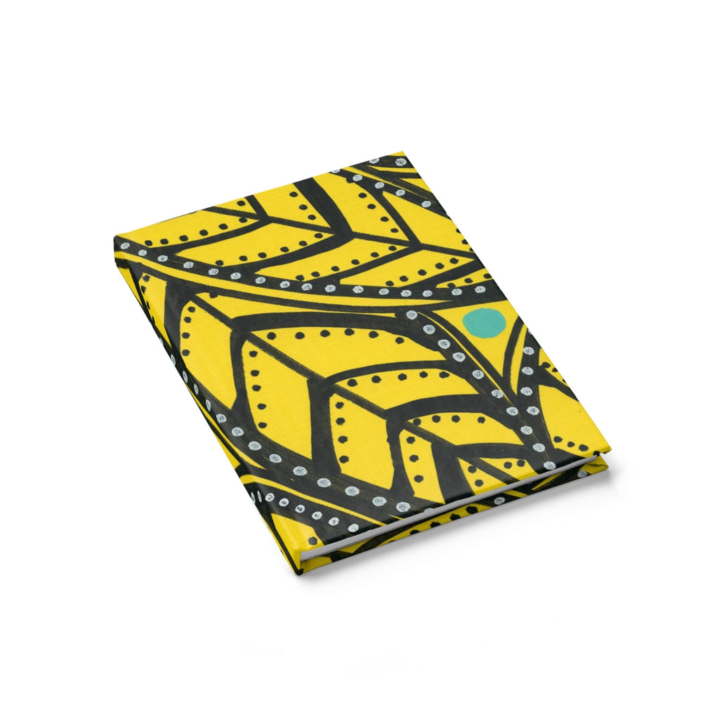 Yellow Palm Notebook