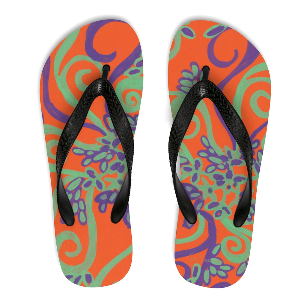 Orange You Glad Flip-Flops