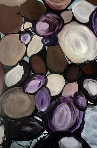JESSICA HIGGINS JONES ART PAINTING ABSTRACT TIDE POOL GLOUCESTER