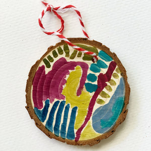 Hand Painted Ornament 2020