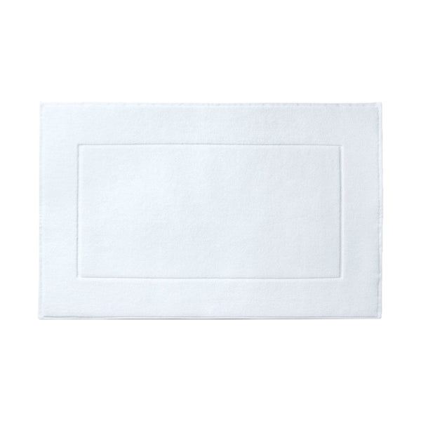 La'Marvel Luxury White Hotel Floor Bath Mat