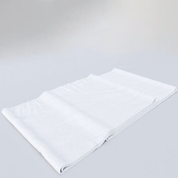 Poly-Cotton Percale 250 Thread Count Flat Bed Sheets
