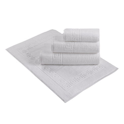 Greek Design White Towel Collection