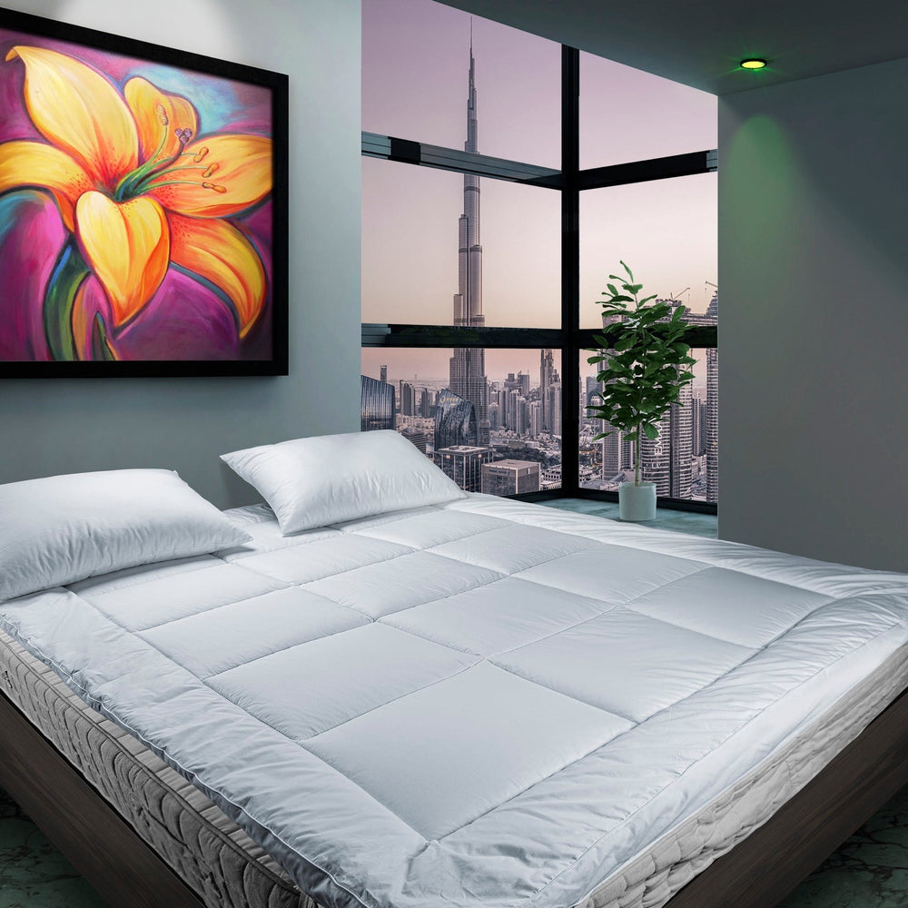La'Marvel Hotel Luxury Mattress Topper