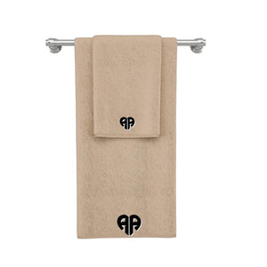 La'Marvel Personalised Embroidery Towels Beige