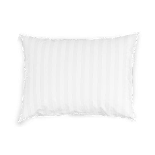 3CM Hotel Stripes 100% Cotton Sateen Pillow Covers in 300 Thread Counts