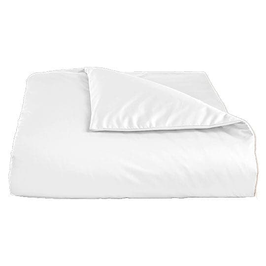 La'Marvel Plain Solid Cotton Sateen Duvet Cover