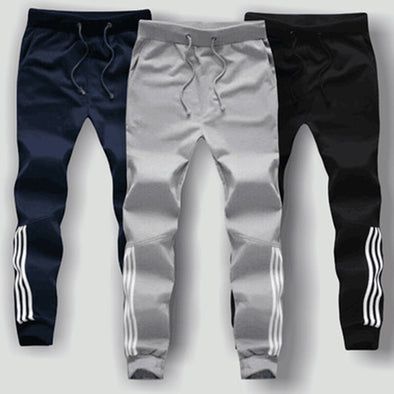 Husky Fit Striped Joggers