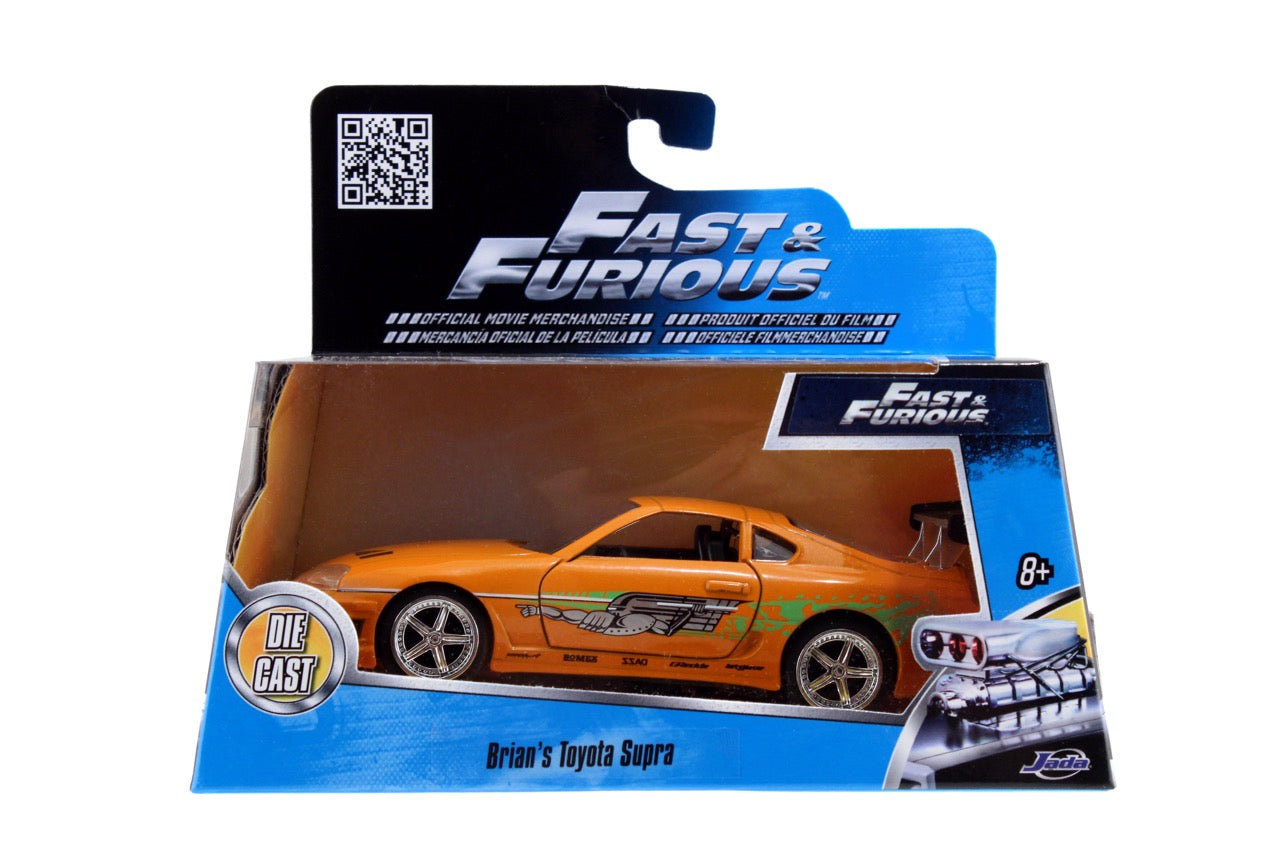 Fast and Furious - Brian's Supra Toy Car