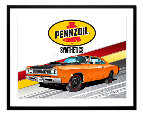 Pennzoil Collaboration Poster