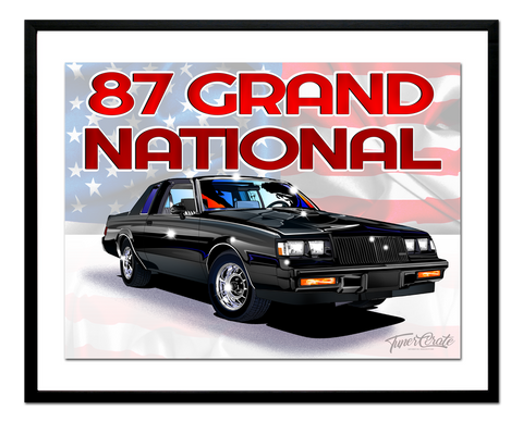 87 Grand National Poster