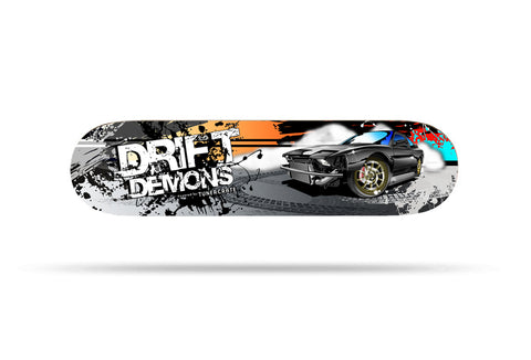 Drift Car Skateboard Deck
