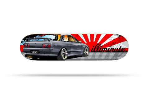 illiminate Skateboard Deck