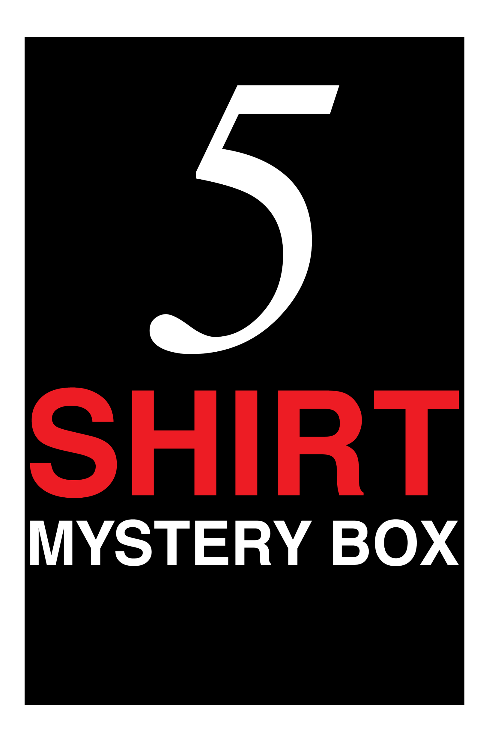 5 Shirt Mystery Box - Warehouse Sale