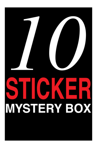10 Sticker Mystery Pack - Warehouse Sale