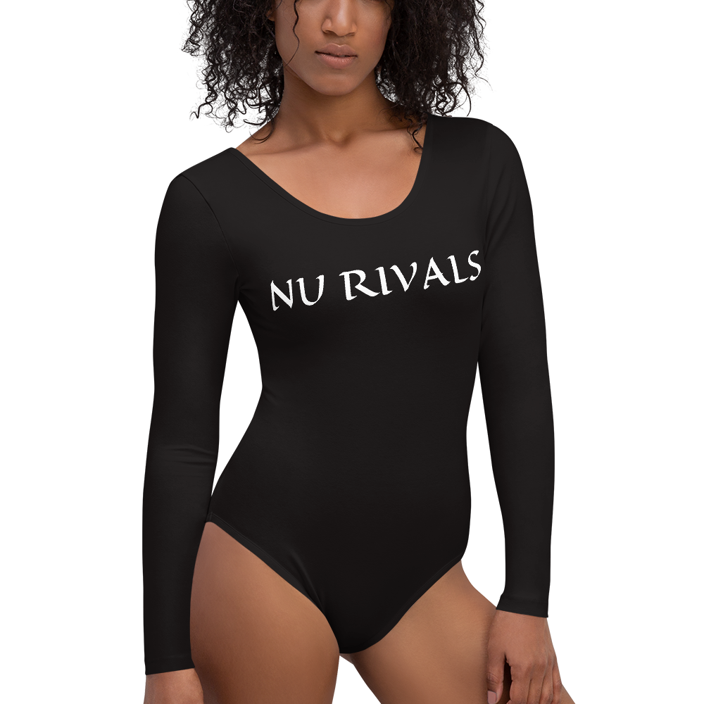 Long Sleeve Bodysuit - Dashing Beauty,  Long Sleeve Bodysuit, , NU Rivals, NU Rivals