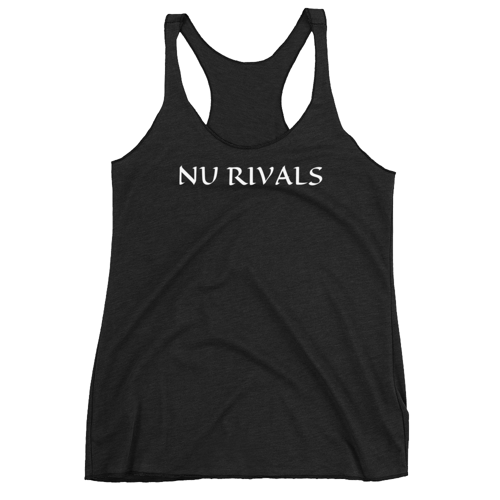 Women's Racerback Tank - Dashing Beauty,  Women's Racerback Tank, , NU Rivals, Dashing Beauty