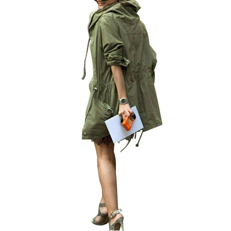 Cover Me Lightly Jacket - Army Green - NuRivals.com,  Cover Me Lightly Jacket - Army Green, , Nu Rivals, Nu Rivals