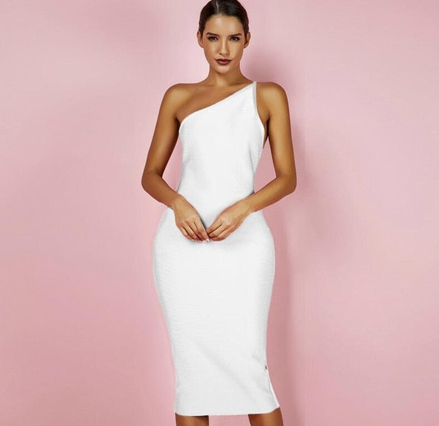 Stand Out Asymmetrical One Shoulder Dress - NuRivals.com,  Stand Out Asymmetrical One Shoulder Dress, , Nu Rivals, Nu Rivals