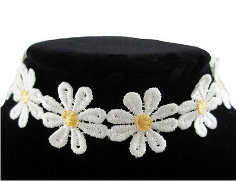 Daisy Flower Choker - Dashing Beauty,  Daisy Flower Choker, , NU Rivals, Dashing Beauty