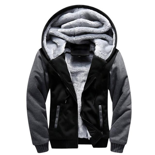 Winter Warm Thick Pullover Cotton Bomber Jacket - NuRivals.com,  Winter Warm Thick Pullover Cotton Bomber Jacket, , NU Rivals, NU Rivals