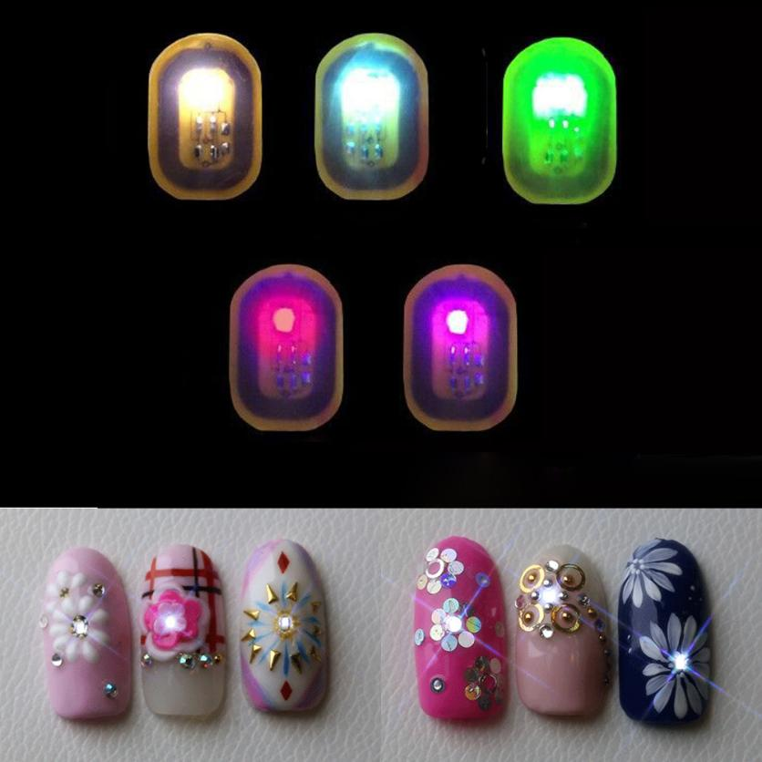 Nail Decoration Women NFC Nail Art Tips DIY Stickers Phone LED Light Flash Nail Tips - Dashing Beauty,  Nail Decoration Women NFC Nail Art Tips DIY Stickers Phone LED Light Flash Nail Tips, , NU Rivals, Dashing Beauty