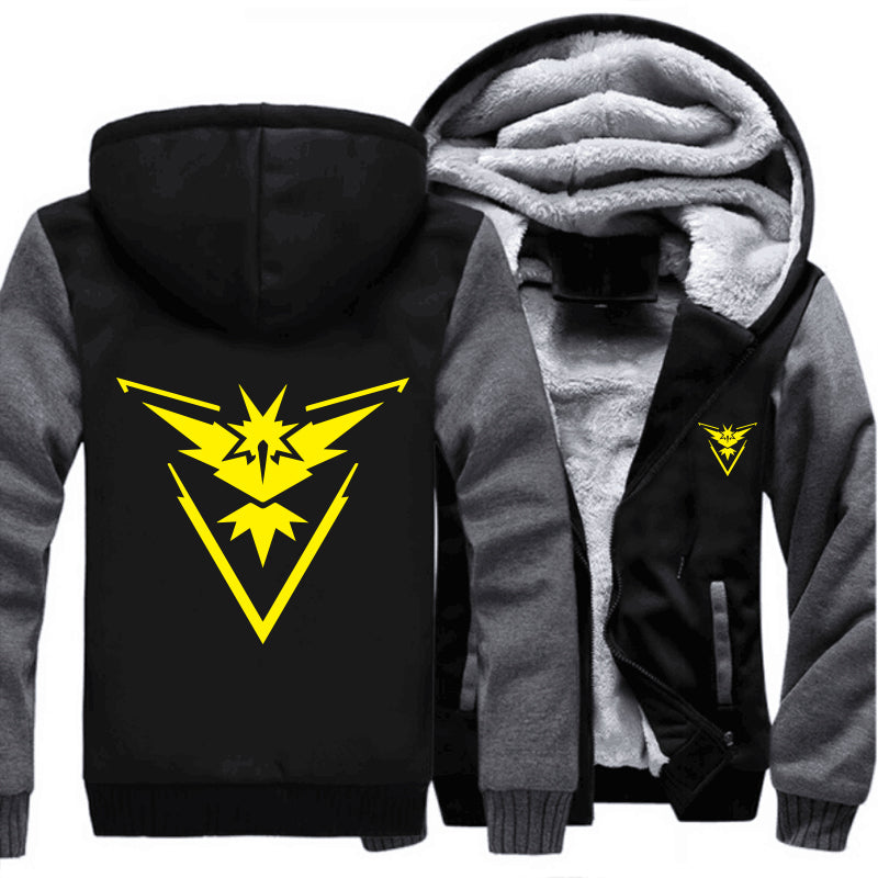 Pokemon Go Team Valor Team Mystic Team Instinct Cosplay Jacket - NuRivals.com,  Pokemon Go Team Valor Team Mystic Team Instinct Cosplay Jacket, , NU Rivals, NU Rivals