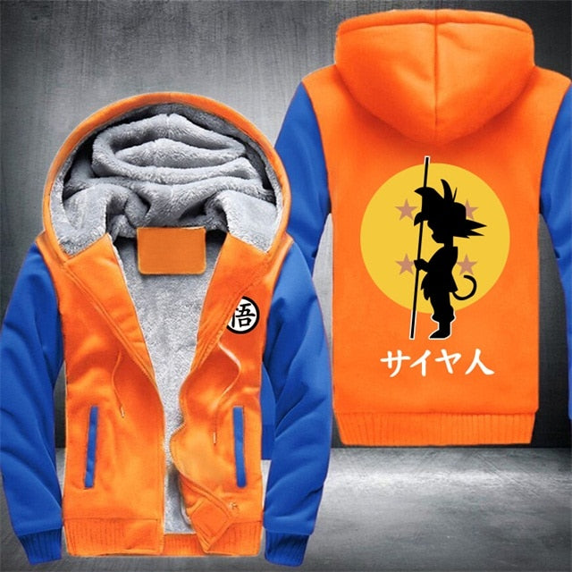 Anime Dragon Ball Z GT Goku Cartoon Jacket - NuRivals.com,  Anime Dragon Ball Z GT Goku Cartoon Jacket, , NU Rivals, NU Rivals