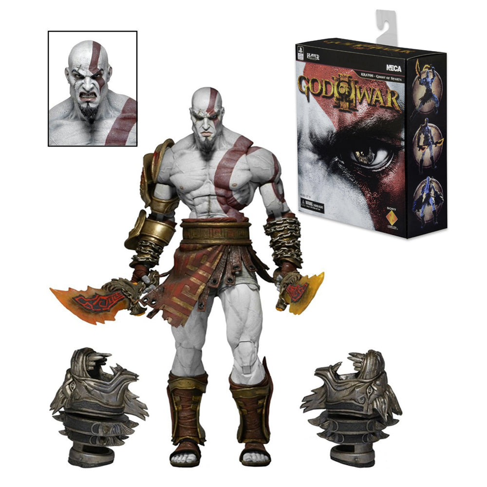 Neca God of War 3 Ultimate Kratos 6 inch Action Figure Collector - Dashing Beauty,  Neca God of War 3 Ultimate Kratos 6 inch Action Figure Collector, , NU Rivals, NU Rivals