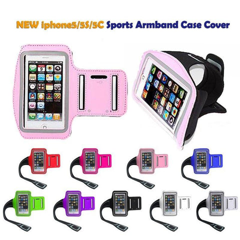11 Colors Cycling Running Jogging Sports Gym Armband iPhones, Android - UpTechMart