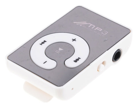 Mini Clip USB Micro SD TF Mirror C Button MP3 Music Media Player - UpTechMart