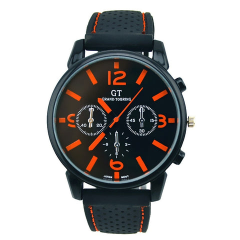 Quartz Military Watch - Sports Edition (Silicone Band) - UpTechMart