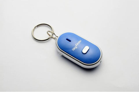 LED Key Finder Locator - Find Lost Keys Whistle Sound Control - UpTechMart