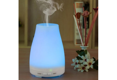 TOP PICK! Ultrasonic Humidifier Aromatherapy Oil Diffuser Cool Mist With Color LED Auto Shut-off - UpTechMart