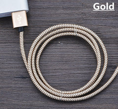 GREAT Utility! Nylon Mini USB Charger Cable  Micro USB Cable iPhone Android