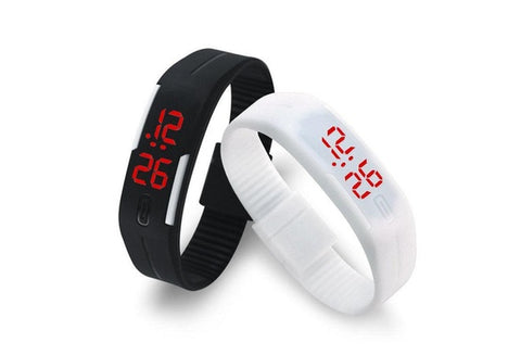 DOUBLE CHOICE STEAL DEAL! Sporty Wireless Bluetooth Stereo Headset OR Sports Watch - UpTechMart