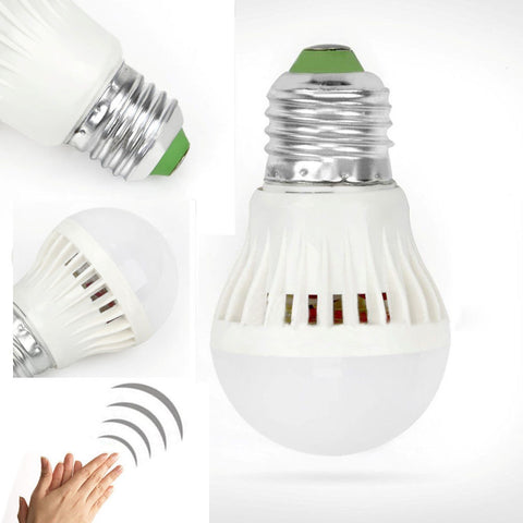 GREAT DEALS! Auto Sound Sensor LED Globe Light Bulb 3/5/7/9/12W 110V/220V - UpTechMart